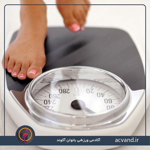 ورزش و افزایش وزن