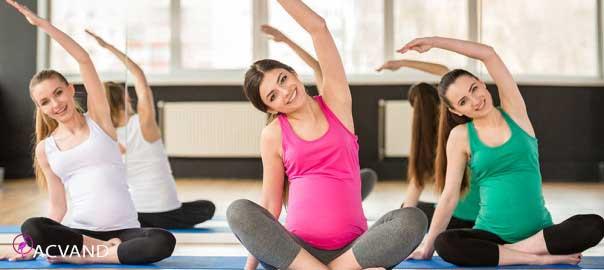 ورزش ایروبیک در بارداری