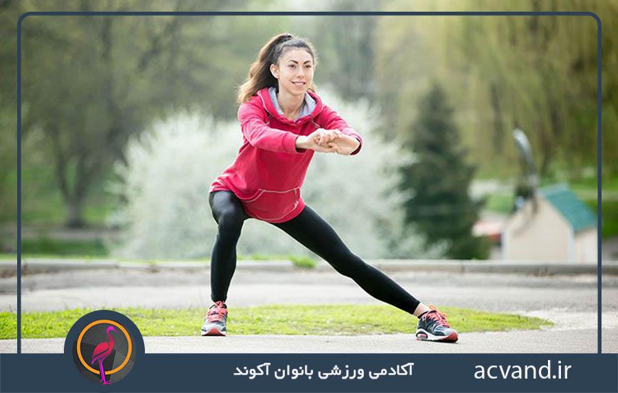 اهمیت گرم کردن و سرد کردن بدن در ورزش