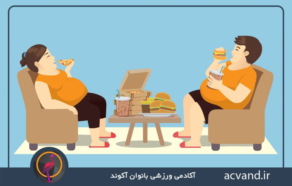 چاقی در مردان و رابطه آن با میزان باروری