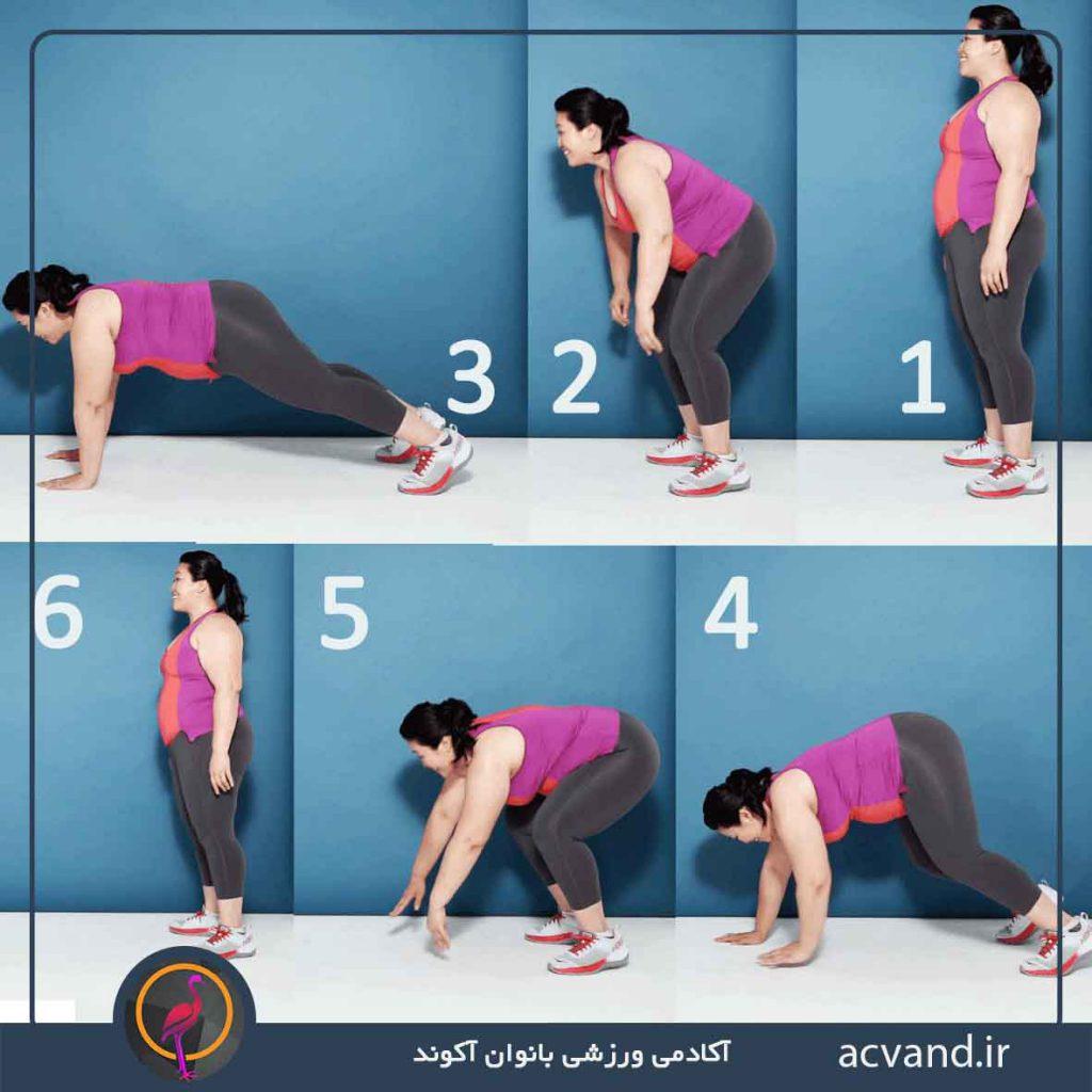 تمرین کششی