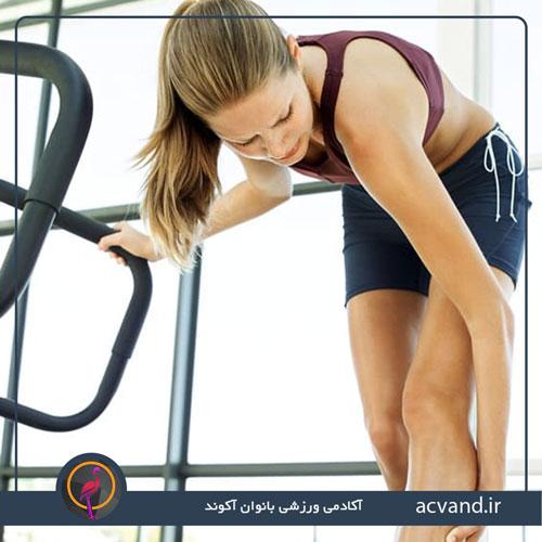 درد عضلانی پس از تمرین