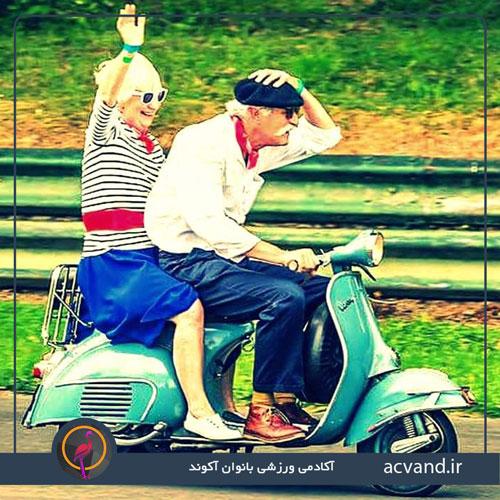 نکاتی در مورد پیر شدن