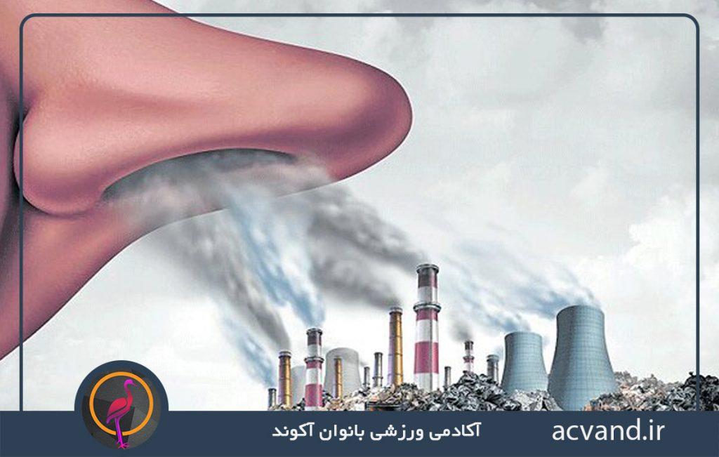 اثرات آلودگی هوا هنگام ورزش