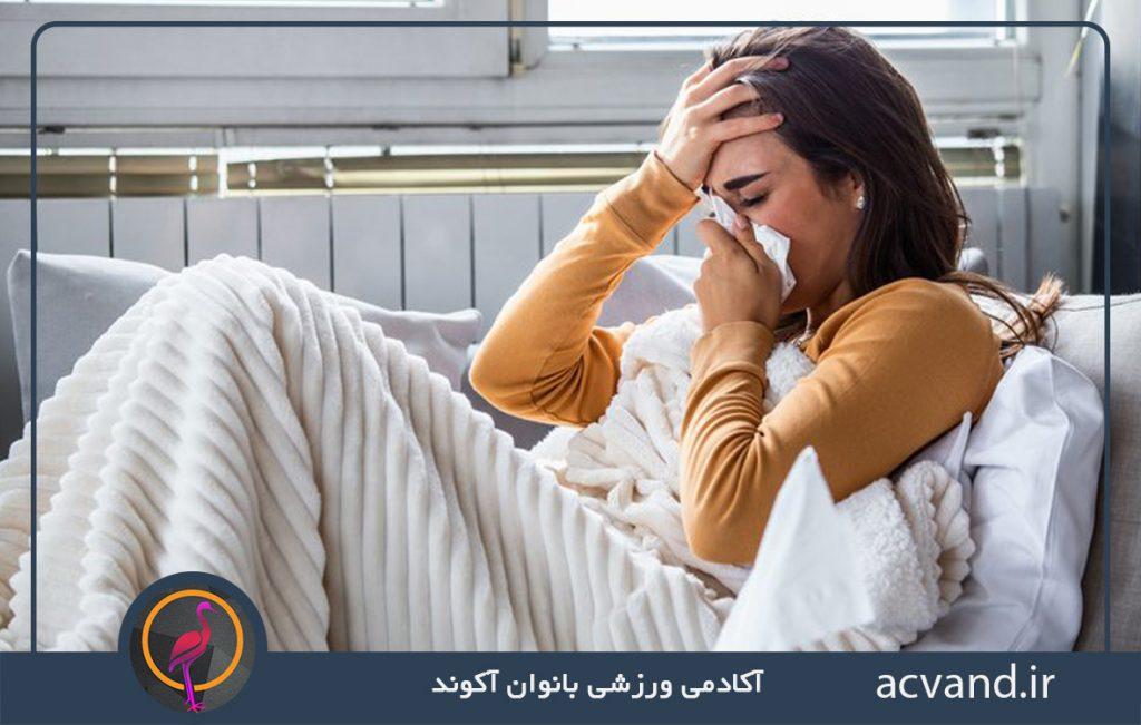 آلرژی و عفونت های ویروسی