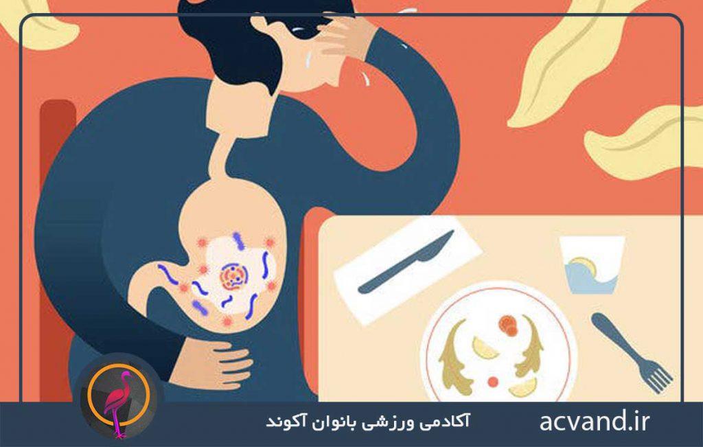 مسمومیت غذایی چیست؟