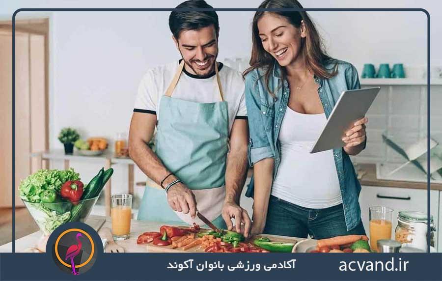 پختن غذاهایی که دوست داریم
