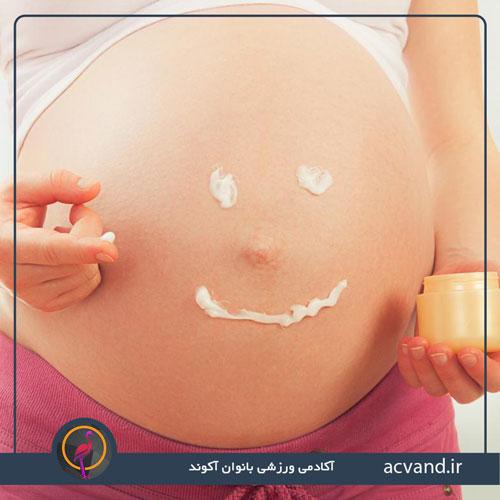 جوش های پوستی بارداری