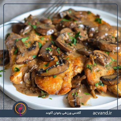 طرز تهیه مرغ مارسالا ایتالیایی لذیذ و خوشمزه