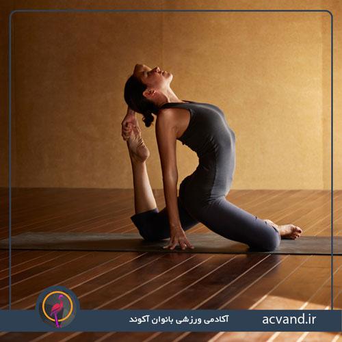 حرکات یوگا برای افزایش قدرت در خانه بانوان