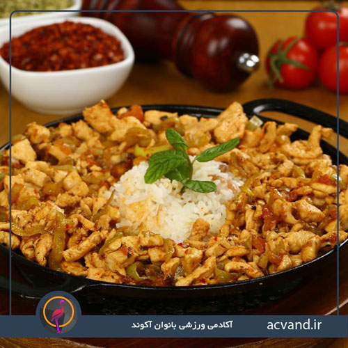 طرز تهیه خوراک تاووک هندی
