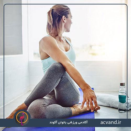 ورزش یوگا برای کمر درد