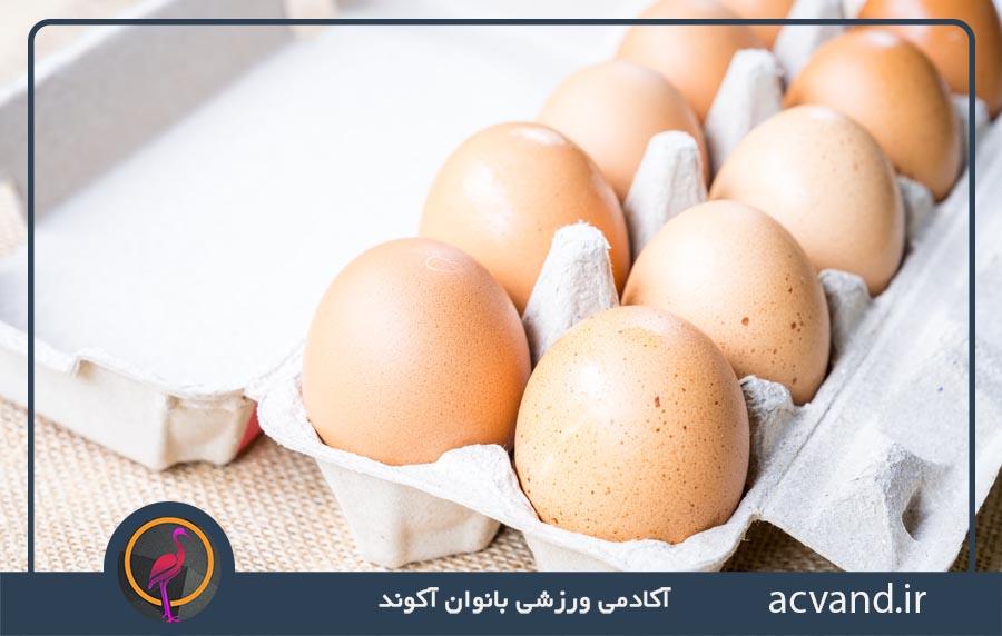 لاغری سریع و کاهش اشتها با مصرف تخم مرغ