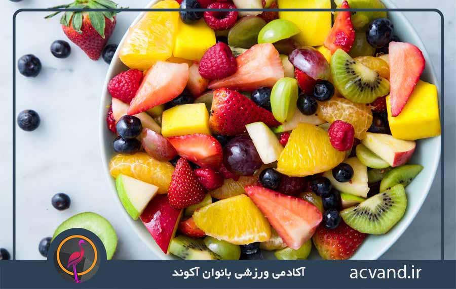 احساس سیری با مصرف میوه