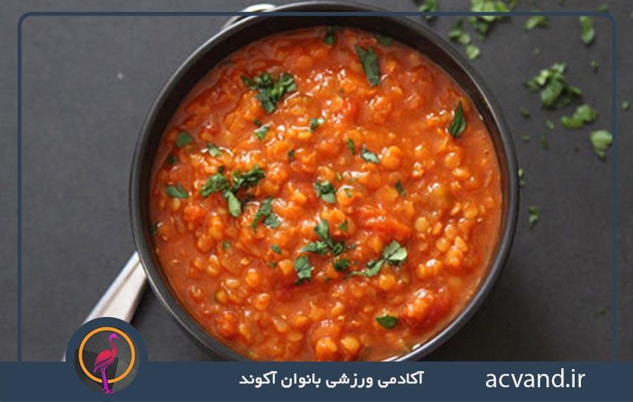 لاغری سریع و پر کردن حجم معده با خوردن سوپ