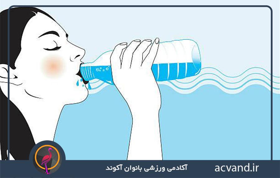 کاهش اشتها با نوشیدن آب